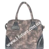 Женская сумка Арт. Y 2006 Цвет Бронза