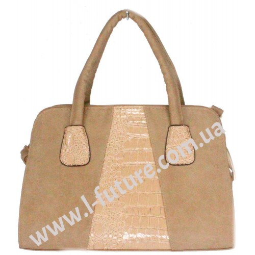 Женская сумка Арт. Y 2007 Цвет Тёмный Беж