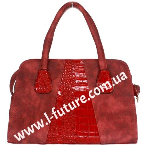Женская сумка Арт. Y 2007 Цвет Красный