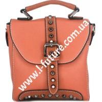 Женская сумка-рюкзак Арт. 8899 Цвет Рыжий