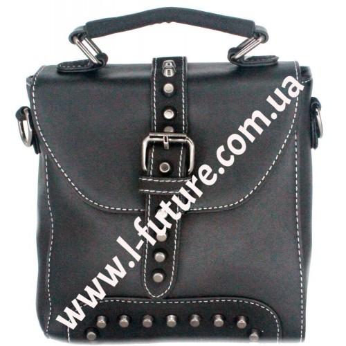 Женская сумка-рюкзак Арт. 8899 Цвет Чёрный