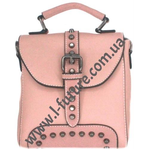 Женская сумка-рюкзак Арт. 8899 Цвет Розовый
