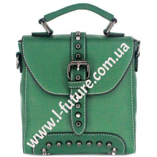 Женская сумка-рюкзак Арт. 8899 Цвет Зелёный
