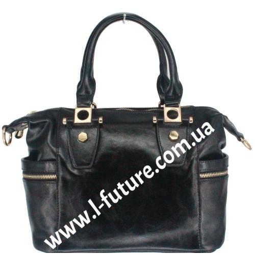 Женская сумка Арт.QJ 1527-23557  Цвет Чёрный