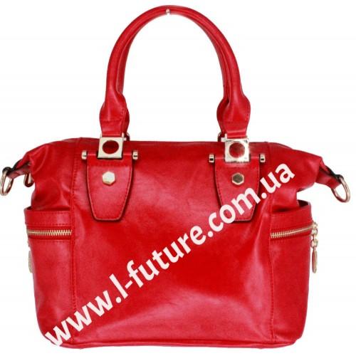 Женская сумка Арт.QJ 1527-23557  Цвет Красный
