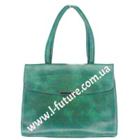 Женская сумка Арт. 89445 Цвет Зелёный