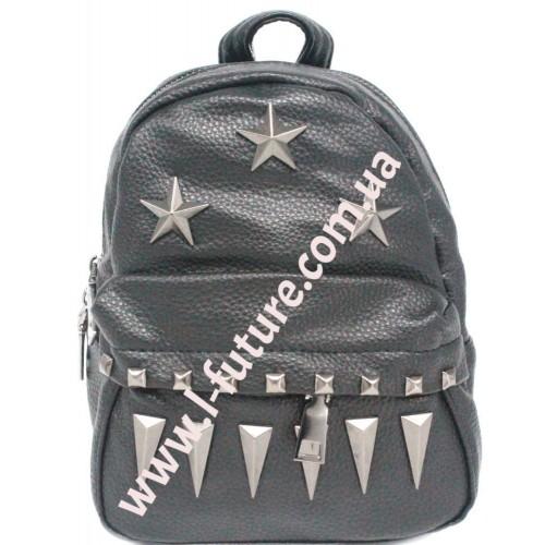 Женская сумка-рюкзак Арт. 3207 Цвет Чёрный