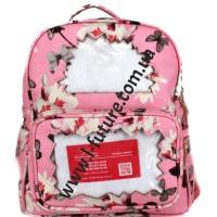 Женский рюкзак Арт. D 198  Цвет Розовый