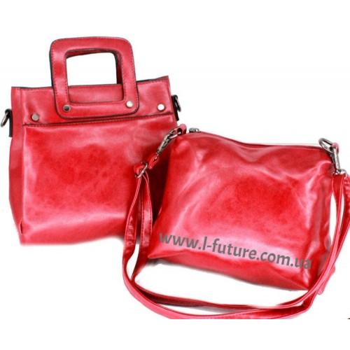 Сумка Женская Арт. 5858  Цвет Красный