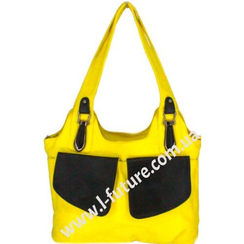 Женская Сумка Арт. 6675 Цвет Лимонный