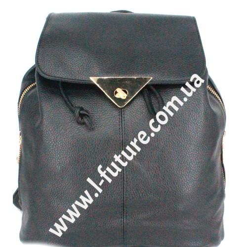 Женский рюкзак Арт. 1961-8  Цвет Чёрный