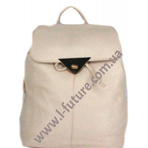 Женский рюкзак Арт. 1961-8  Цвет Светлый Беж