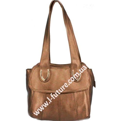 Женская сумка Арт. 6652 Цвет Бронза
