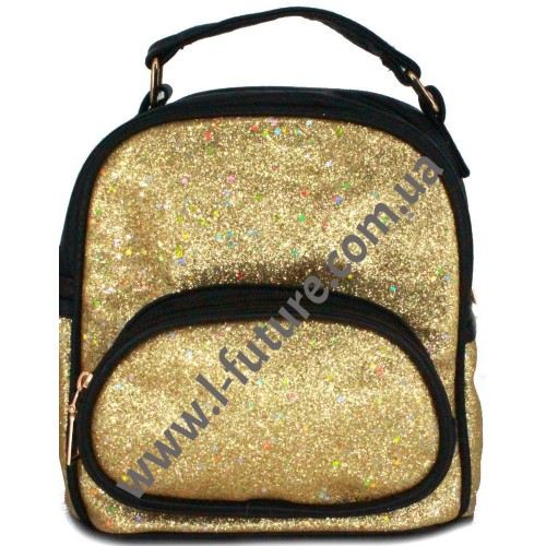 Женская Сумка-Рюкзак Арт. 180-2 Цвет Золото
