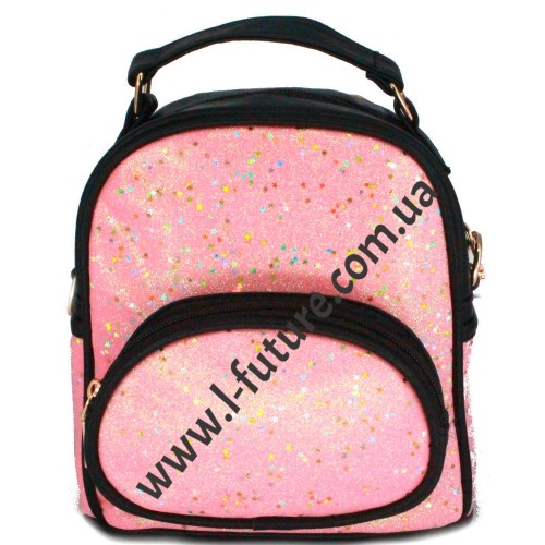 Женская Сумка-Рюкзак Арт. 180-2 Цвет Розовый