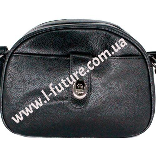 Женская сумка арт 1253.Цвет Чёрный
