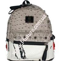 Женский рюкзак Арт. 05 Цвет Серый