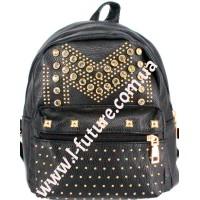 Женский рюкзак Арт. 801-2 Цвет Чёрный