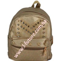 Женский рюкзак Арт. 801-2 Цвет Золото