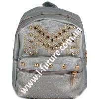 Женский рюкзак Арт. 801-2 Цвет Серебро