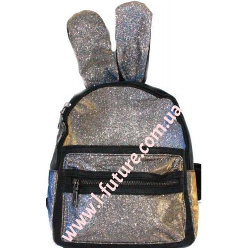 Женский рюкзак Арт. 181-1 Цвет Серебро