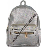 Женский рюкзак Арт. 59194 Цвет Серебро