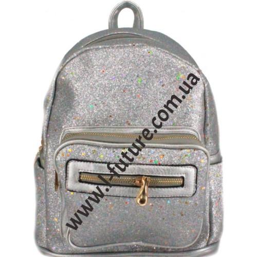 Женский рюкзак Арт. 59194-1 Цвет Серебро