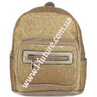 Женский рюкзак Арт. 59194-1 Цвет Золото