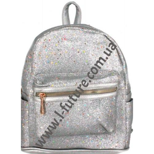 Женский рюкзак Арт. 59192-1 Цвет Серебро