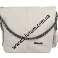 Женская сумка 838-1-1 Цвет Светлый Беж