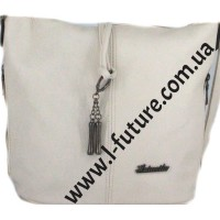 Женская сумка 838-1 Цвет Светлый Беж
