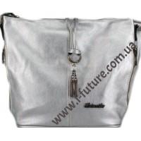 Женская Сумка Арт. 838-1 Цвет Серебро
