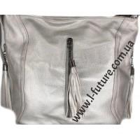 Женская сумка Арт. 906-1 Цвет Серебро