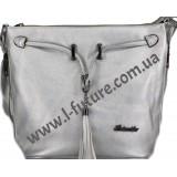 Женская сумка 840-1 Цвет Серебро