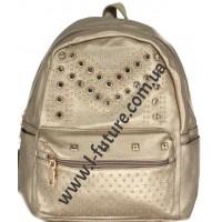 Женский рюкзак Арт. 802 Цвет Золото