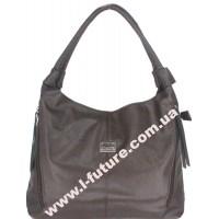 Женская сумка Арт. 1711-4  Цвет Коричневый