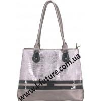 Женская Сумка Арт. 6172 Цвет Серебро