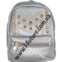 Женский рюкзак Арт. 9003 Цвет Серебро
