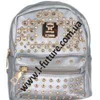 Женский рюкзак Арт. 9003-2 Цвет Серебро