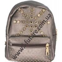Женский рюкзак Арт. 9003-3 Цвет Бронза