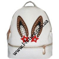 Женская Сумка-Рюкзак Арт. 609  Цвет Белый