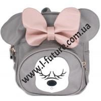 Женский рюкзак Арт.В 018 Цвет Серый