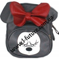Женский рюкзак Арт.В 018 Цвет Тёмно-Серый