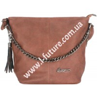 Женская сумка 838-1-1 Цвет Коричневый