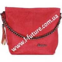 Женская сумка 838-1-1 Цвет Бордо