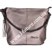Женская сумка 838-1-1 Цвет Бронза
