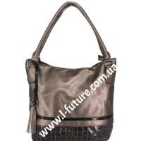 Женская сумка Арт. F-925 Цвет Бронза