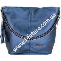 Женская сумка 838-1-1 Цвет Синий
