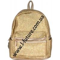 Женский рюкзак Арт. 59192-1 Цвет Золото