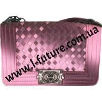 Женский Клатч Арт.D-016 Цвет Розовый